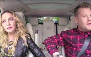 Madonna se suma al Carpool Karaoke de James Corden