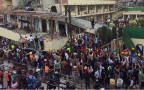 Desalojan escuela Enrique Rébsamen ante riesgo de derrumbe