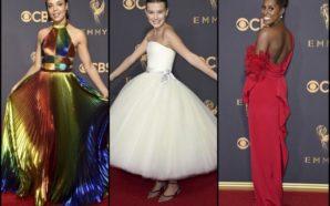 Los increíbles vestidos en la entrega de los Emmy