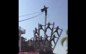 VIDEO: Bomberos sufren accidente en Puerto Vallarta durante desfile