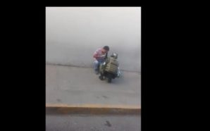 VIDEO: El hermoso gesto de un soldado mexicano que se…