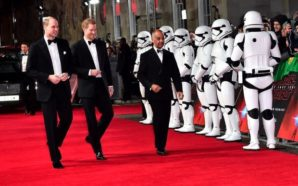 VIDEO: Asisten Príncipes a premier de Star Wars en Londres