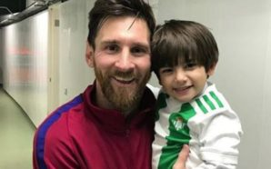 ¡Sueño cumplido!, hijo de Andrés Guardado conoce a Messi