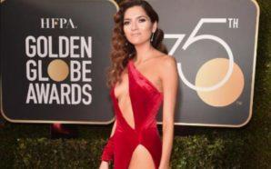 VIDEO: La chica de rojo crea controversia en los Globos…