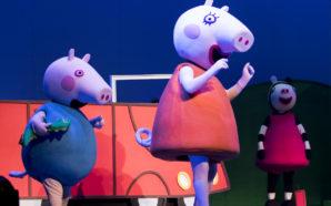 Peppa y sus amigos llegaron al Auditorio Pabellón M