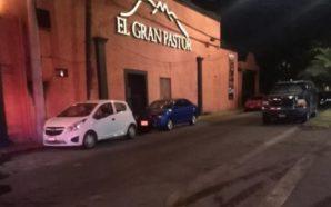 """Ejecutan a hombre en el restaurante """"El Gran Pastor"""" en…"""