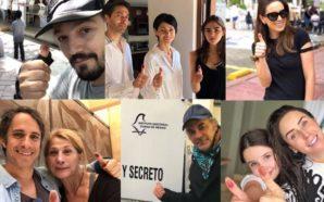 Famosos salen a votar en México