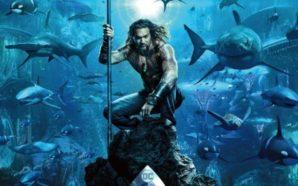 Lanzan primer poster de Aquaman