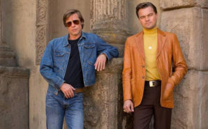 Pitt y DiCaprio en el primer trailer de la cinta…