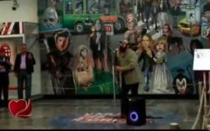 Julión Álvarez canta de incógnito en Metro CDMX