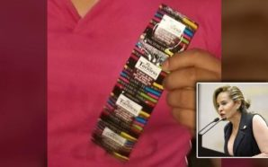 #LadyCondones Diputada de Morena 'sella' preservativos con su nombre